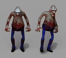 zombie model by TheUncle