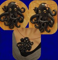 Fancy octopus by Naira-no-Tatari