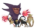 Even more fun with Pokemon Redux by manic-in-tricolour