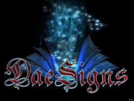 DaeSigns Magic Book Logo 2 by Ealaine