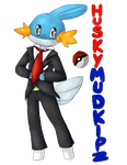 Youtubers as Pokemon #6 - HuskyMUDKIPZ by PikaIsCool