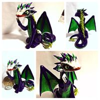 Joker Dragon dark knight version by LittleCLUUs