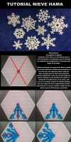 TUTORIAL: Nieve Hama snow by Hamamia