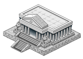 Saint Seiya Leo Temple by dollarcube