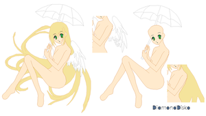Angel - Umbrella - Base by DiamondDisko