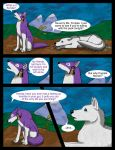 Questions Answered Ch 1 Pg 5 by Soulful-Purple-Wolf