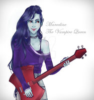 Marceline, the Vampire Queen by Pami-R