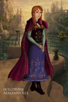 Anna from Frozen, winter outfit by goat1200