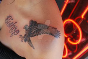 Eagle and name 2 by KDero
