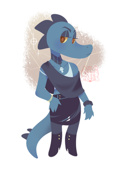 bea outfit redesign by dongoverlord