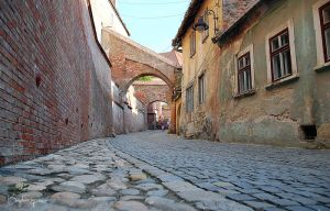 Streets of Sibiu by BogdanEpure