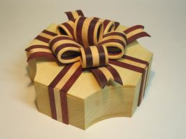 Wooden Bow Box by DMSscroller