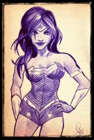 .::Wonder Woman::. by The-Pen-Freak