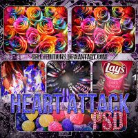 Heart Attack PSD by SellyEditions