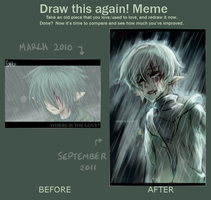 Draw again meme - WITL by jeotabet