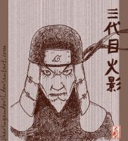 The 3rd Hokage by sharingandevil