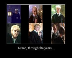 Draco Through The Years by hot-stuff123