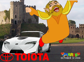 The King Gets a Car: TOIOTA by 64marjo64