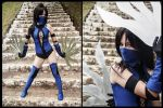 Kitana Cosplay, from MK by MishiroMirage