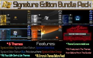 Signature Edition Bundle Pack by pauliewog260