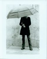 Umbrella portrait 1 by Anonymousey