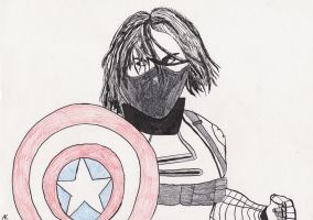 The Winter Soldier by blackstormwarrior