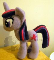 Twilight Sparkle MLP: FIM Plush by elfy016