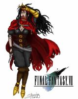 Final Fantasy VII: Vincentina Valentine by Zchanning