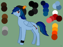 MLP: FiM Nicky Ref Sheet by BritishNicky