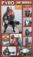 Pyro Papercraft Download by XenonRay