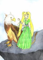 FY - Gryphon and Cecia by mene