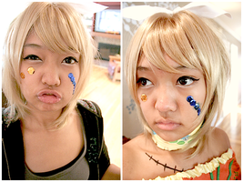 DWC make-up lol by chumichan