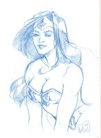 wonder woman by elena-casagrande