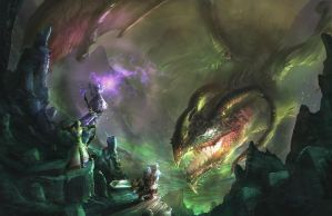 A Toxic Battle by Tsylore