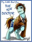 My Little Bad Ass 10th Doctor by Amelie-ami-chan