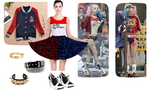 Suicide Squad Harley Quinn Dress Outfit by Enlightenup23