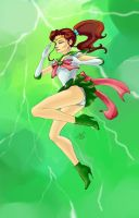 Sailor Jupiter by PhoenixAnna
