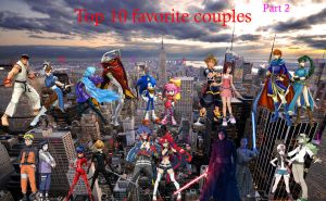 Top 10 Favorite Couples part 2 by alienskiller1