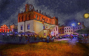 My Town - Night Impression by marrciano