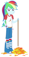 Equestria Girls: Rainbow Rakes by dm29
