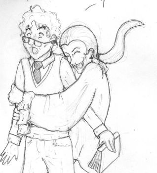 GLOMP -Aziraphale and Herbert- by Atomixpenguin