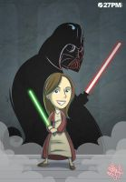 Jedi_Girl by ElComics