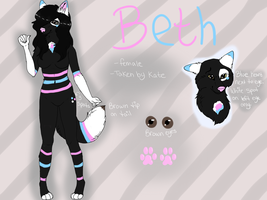 Beth Anthro Reference Sheet by PinkPoodle543