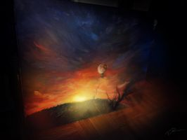 My painted World in Lonliness by Ti-R