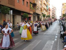 Flower Parade in Spain by ToveAnita