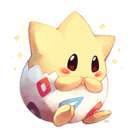 Commission: Togepi by salanchu
