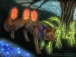 Hundred streets of neon lights by WoelfinNishi