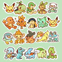 Starters! by pomifumi