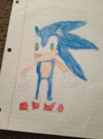 Sonic the Hedgehog by Simpsonsfanatic33