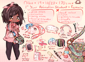 Meet The Artist! //criess by CuteNikeChan